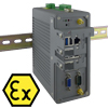 DIN Rail box pc with ATEX