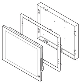 Front Side Wall Mount