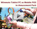 Tablet PC as Mobile POS in Amusement Park