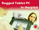 Rugged Tablet PC in Hospital