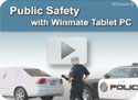 Public Safety with Winmate Tablet PC