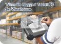 Rugged Tablet PC in Warehouse